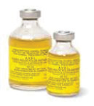 A bottle of Tick Anti serum